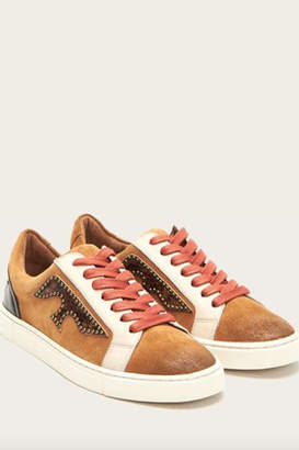 Frye Ivy Logo Patch Low Sneaker