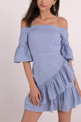 Lucca Couture Vivienne Off-Shoulder Dress