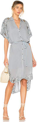 Free People Cut It Out Midi Dress