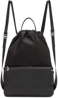 Fendi Black Nylon Mini Bag Bugs Backpack