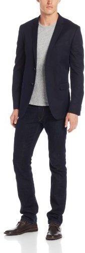 Ben Sherman Men's Plectrum Blazer Jacket with Butcher Buttons