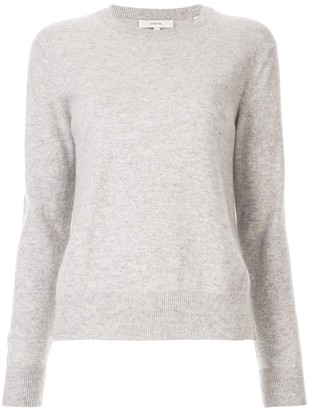 Vince long-sleeve fitted sweater