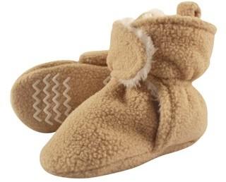 Hudson Baby Unisex Cozy Sherpa Fleece Booties