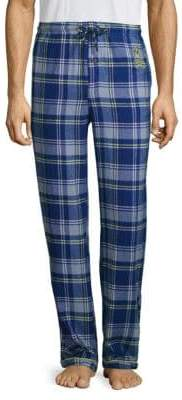 Psycho Bunny Plaid Cotton Pajama Pants