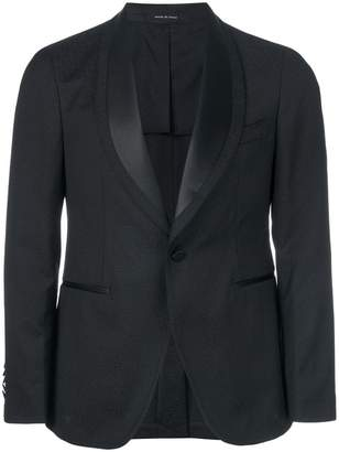 Tagliatore satin lapel tuxedo jacket