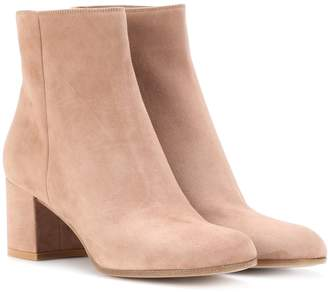 Gianvito Rossi Exclusive to mytheresa.com Margaux Mid suede ankle boots