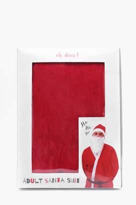 boohoo Santa Suit