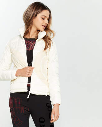 Desigual Cream Pune Packable Padded Jacket