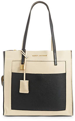 Marc Jacobs The Grind Shopping Leather Tote