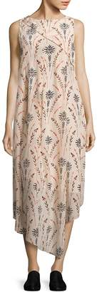 Creatures of the Wind Women's Drew Floral Silk Dress