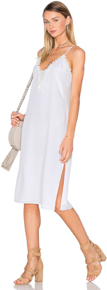 House of Harlow x REVOLVE Stella Deep V Slip Dress $140 thestylecure.com