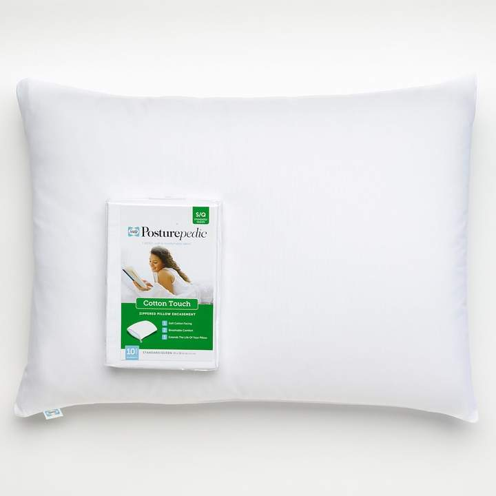 Sealy Posturepedic Cotton Touch Pillow Protector - Standard / Queen
