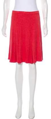 Max Studio A-Line Knee-Length Skirt