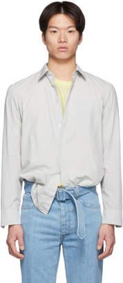 Maison Margiela Grey Garment-Dyed Slim Shirt