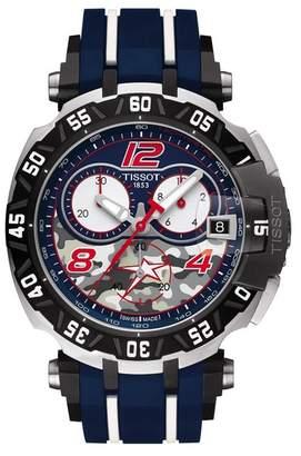 Tissot Men's T-Race Swiss Quartz Sport Watch, 47.2mm