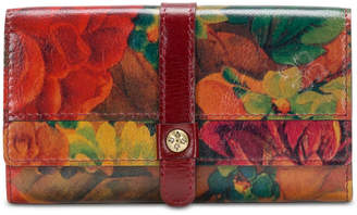 Patricia Nash Murcia Heritage Print Leather Wallet