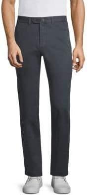 Officine Generale Straight-Fit Cotton Pants