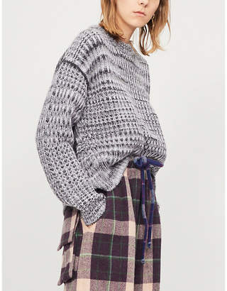 Acne Studios Oversized chunky-knit jumper