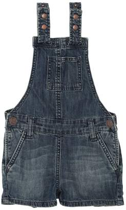 Cotton Chambray Overalls