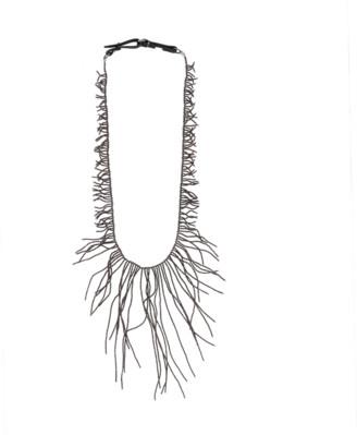Brunello Cucinelli Ematite Long Branch Necklace