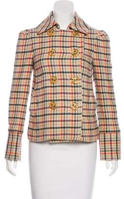Marc by Marc Jacobs Wool Plaid Jacket