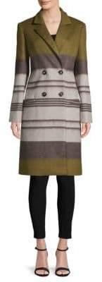 Carolina Herrera Classic Striped Coat