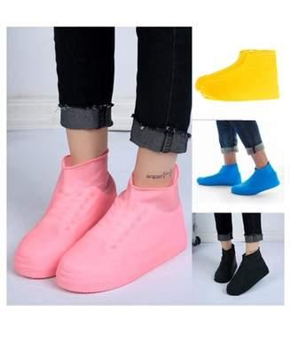 Girl12Queen Unisex Outdoor Waterproof Dustproof Disposable Latex Protective Shoe Covers