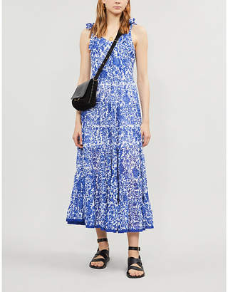 643cf4cfe80d Free People Kika's floral-print cotton midi dress