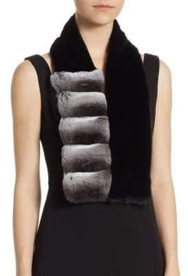 The Fur Salon Chinchilla Mink Scarf