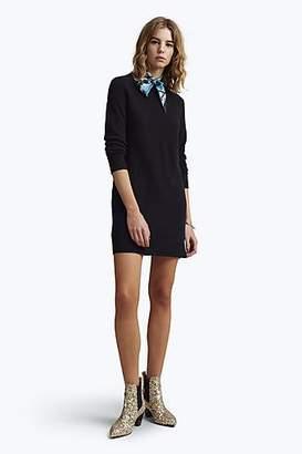 CONTEMPORARY Long-Sleeve Crew Neck Sweater Dress