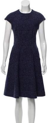 Lela Rose Sleeveless Flared Dress