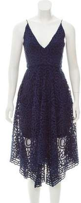 Nicholas Structured Lace Dress