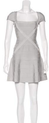 Herve Leger Makayla Bandage Dress