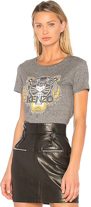 Kenzo Tiger Classic T-Shirt in Gray $125 thestylecure.com