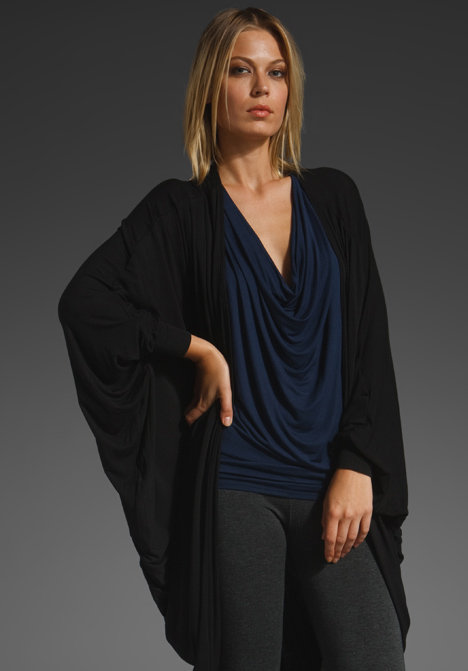 Riller & Fount Ursula Long Sleeved Cocoon Cardigan