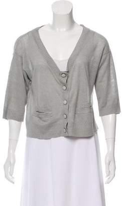 Chloé Linen Knit Cardigan