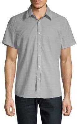Hyden Yoo Tyler Short-Sleeve Button-Down Shirt