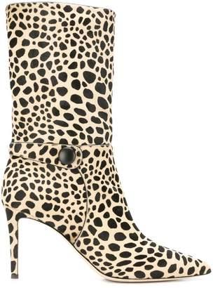 24226331429 Leopard Print Boots - ShopStyle