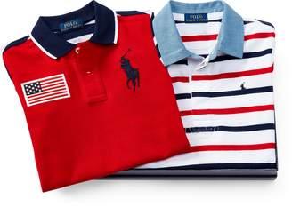Ralph Lauren Rugby & Polo Shirt Gift Set