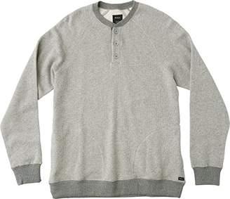 RVCA Men's Capo Henley Crewneck Sweatshirt