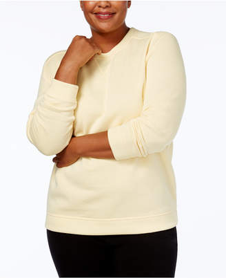 Karen Scott Plus Size Sweatshirt
