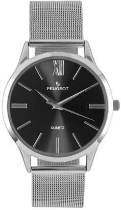 Peugeot Men's Slim Case Stainless Steel Watch