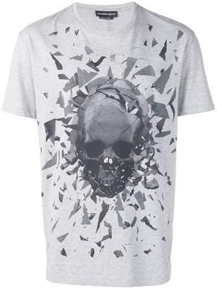 Alexander McQueen broken skull print T-shirt