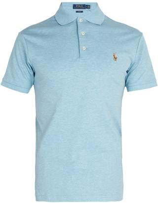 Polo Ralph Lauren Logo-embroidered cotton-jersey polo shirt