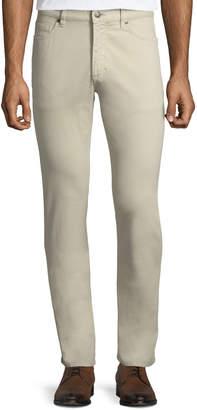 Ermenegildo Zegna Five-Pocket Brushed Cotton Pants