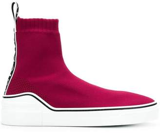 Givenchy knitted ankle-length sneakers