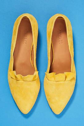 Emma.Go Emma Go Ruffled Front Loafers