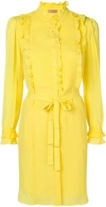 Twin-Set ruffled blouse dress