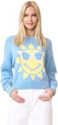 Wildfox Hello Sunshine Sweater $150 thestylecure.com