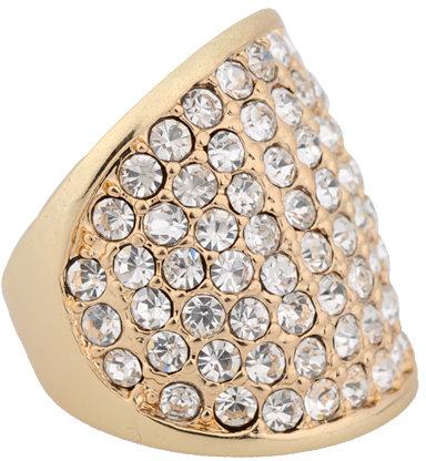 Shimmering Rhinestone Ring